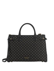 Burberry Studded Leather Bag Black