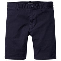 Scotch And Soda Classic Garment Dyed Shorts Navy