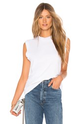 Agolde Muscle Tee White
