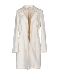 Brian Dales Coats And Jackets Full Length Jackets Women White