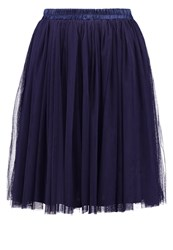Oh My Love Aline Skirt Navy Dark Blue