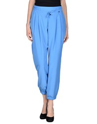Amy Gee Trousers Casual Trousers Women Pastel Blue