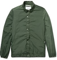 Norse Projects Svend Garment Dyed Shell Jacket Dark Green
