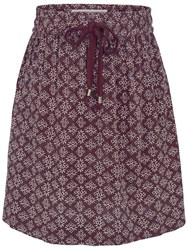 Fat Face Dana Drawstring Skirt Ganache