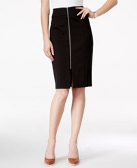 Inc International Concepts Zip Front Pencil Skirt Only At Macy's