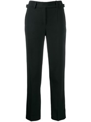Red Valentino Redvalentino Straight Leg Tailored Trousers Brown