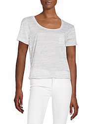 Threads 4 Thought Charlie Organic Cotton Blend Pocket Tee Marble