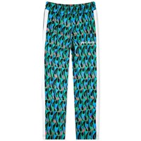 Palm Angels Burning Track Pant Blue