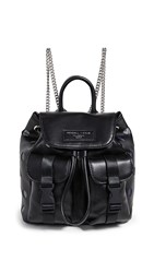 Kendall Kylie Poppy Small Backpack Black