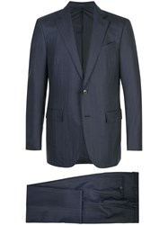 Ermenegildo Zegna Classic Two Piece Suit Blue