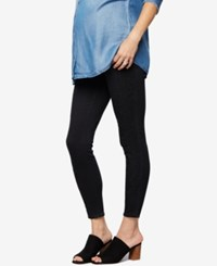A Pea In The Pod Maternity Black Wash Skinny Jeans