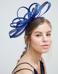 Coast Sage Fascinator Blue