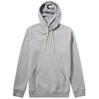 Soulland Guy Embroidered Logo Hoody Grey