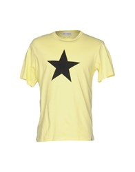 Lo Not Equal T Shirts Yellow