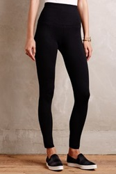 Anthropologie Smoothing Shapewear Leggings Black