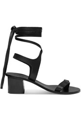 Atp Atelier Canda Leather Sandals Black