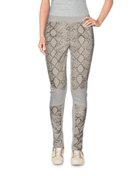 Met And Friends Trousers Leggings Women Light Grey