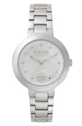 Versus By Versace Women's Lantau Island Bracelet Watch 36Mm Silver