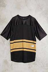Forever 21 O.G. Embroidered Jersey Tee Black Gold