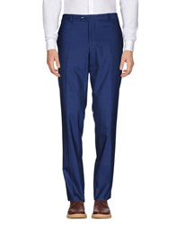 Paoloni Casual Pants Dark Blue