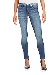 Genetic Denim Daphne Mid Rise Cropped Skinny Jeans Orio