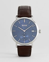 Boss 1513639 Corporal Leather Watch Brown