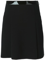 Ralph Lauren Black Label Ralph Lauren Black Contrasting Waistband Skirt