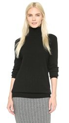 Equipment Oscar Turtleneck Cashmere Sweater Black