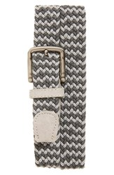 Men's The Tie Bar Two Tone Braided Belt