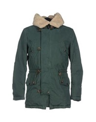 Siviglia Denim Coats Green