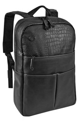 Focused Space 'The Veneer' Backpack Black Croc