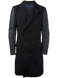 Junya Watanabe Comme Des Garcons Man Double Breasted Coat Black