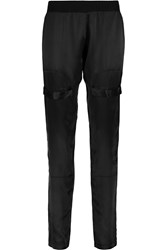Alexis Jerry Silk Tapered Pants Black