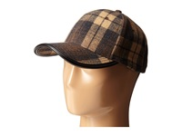 San Diego Hat Company Cth4104 Brushed Plaid Ball Cap Brown Caps