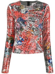 Preen By Thornton Bregazzi Willow Abstract Printed Top 60