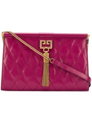 Givenchy Medium Gem Quilted Bag Purple