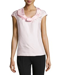 Escada Nuri Sleeveless Silk Shell Top Light Pink