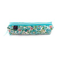 Liberty London Box Pencil Case Betsy Turquoise