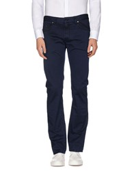 Seventy Trousers Casual Trousers Men Dark Blue