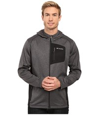 Columbia Jackson Creek Hoodie Black Heather Men's Sweatshirt