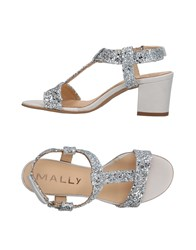 Mally Sandals Silver