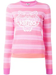Kenzo Tiger Silicon Jumper Pink Purple