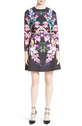 Ted Baker Women's London Lost Garden Fit And Flare Dress