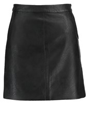 Topshop Tall Aline Skirt Black