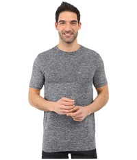 The North Face Short Sleeve Engine Crew Cosmic Blue Heather Men's Short Sleeve Pullover