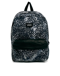 Vans Deana Backpack In Grey Leopard Print And Contrast Trim Multi