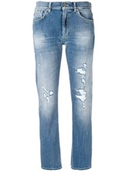 Dondup Slim Faded Jeans Blue