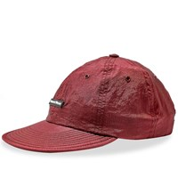 Raised By Wolves Pvc Logo 6 Panel Cap Red