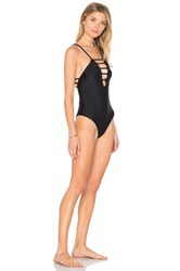 Bettinis Strappy One Piece Black