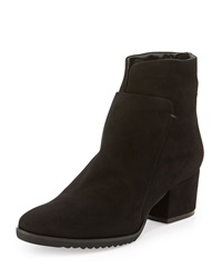 Fraley Suede Ankle Boot Black Sesto Meucci